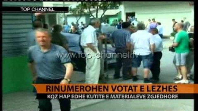 Rinumërohen votat e Lezhës - Top Channel Albania - News - Lajme
