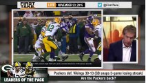 ESPN First Take - Aaron Rodgers Gets the Packers Back on Track