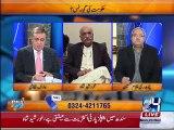Arif Nizami asks Khursheed Shah about Imran Khan and Nawaz Sharif government's progress