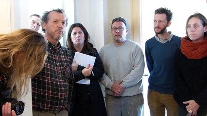 Démonstration d'application d'enduit en terre crue - 12 novembre 2015