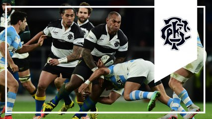 Nadolo's 'Lomuesque' try for Barbarians