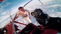 saut en chute libre sans parachute