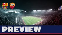 UEFA Champions League (preview): FC Barcelona – AS Roma (ENG)