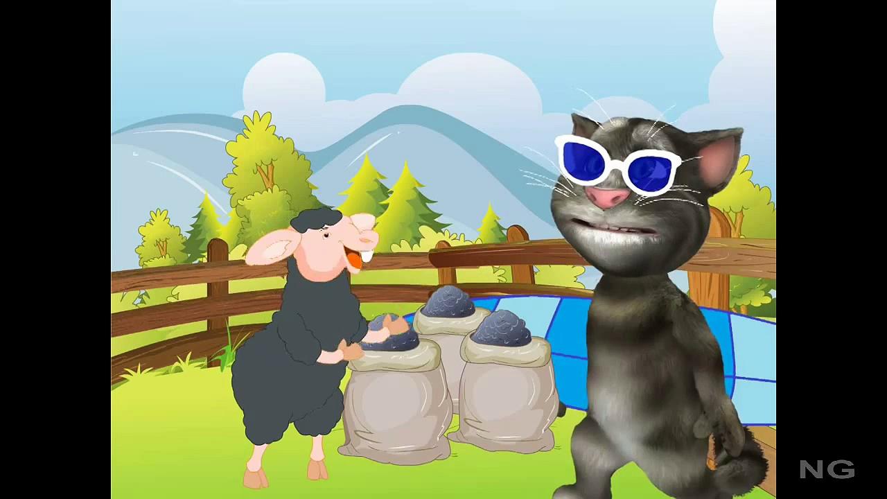 Baa Baa Black Sheep English Nursery Rhymes For Kids   Baa Baa Black Sheep HD Animation Rhy