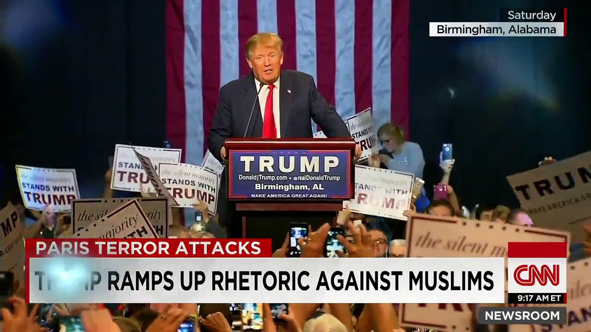 Trump: Muslim-Americans cheered on 9/11