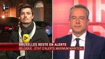 Belgique: état d'alerte maximum maintenu à Bruxelles