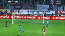 هدف هالك الصاروخي من ضربة حرة مباشرة رائعة في مرمى سبارتاك موسكو 