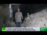 Life in ruins: Syrians survive in Aleppo amid city destruction