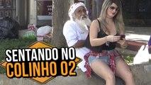 GAROTA SENTANDO NO COLINHO 02 (GIRL SITTING ON THE LAP | PRANK)