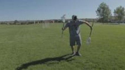 Slow Motion Lacrosse Stick Tricks with Powlax