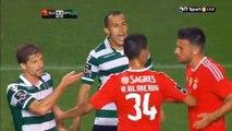 Liga NOS 8ª jorn. & Taça de Portugal 4ªElim. SCP vs SLB Agressões dos jogadores do Benfica a jogadores do Sporting