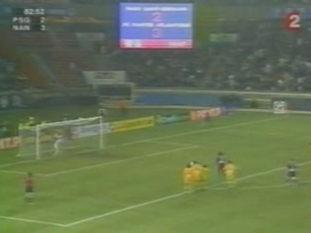 Face à face Landreau - Ronaldinho
