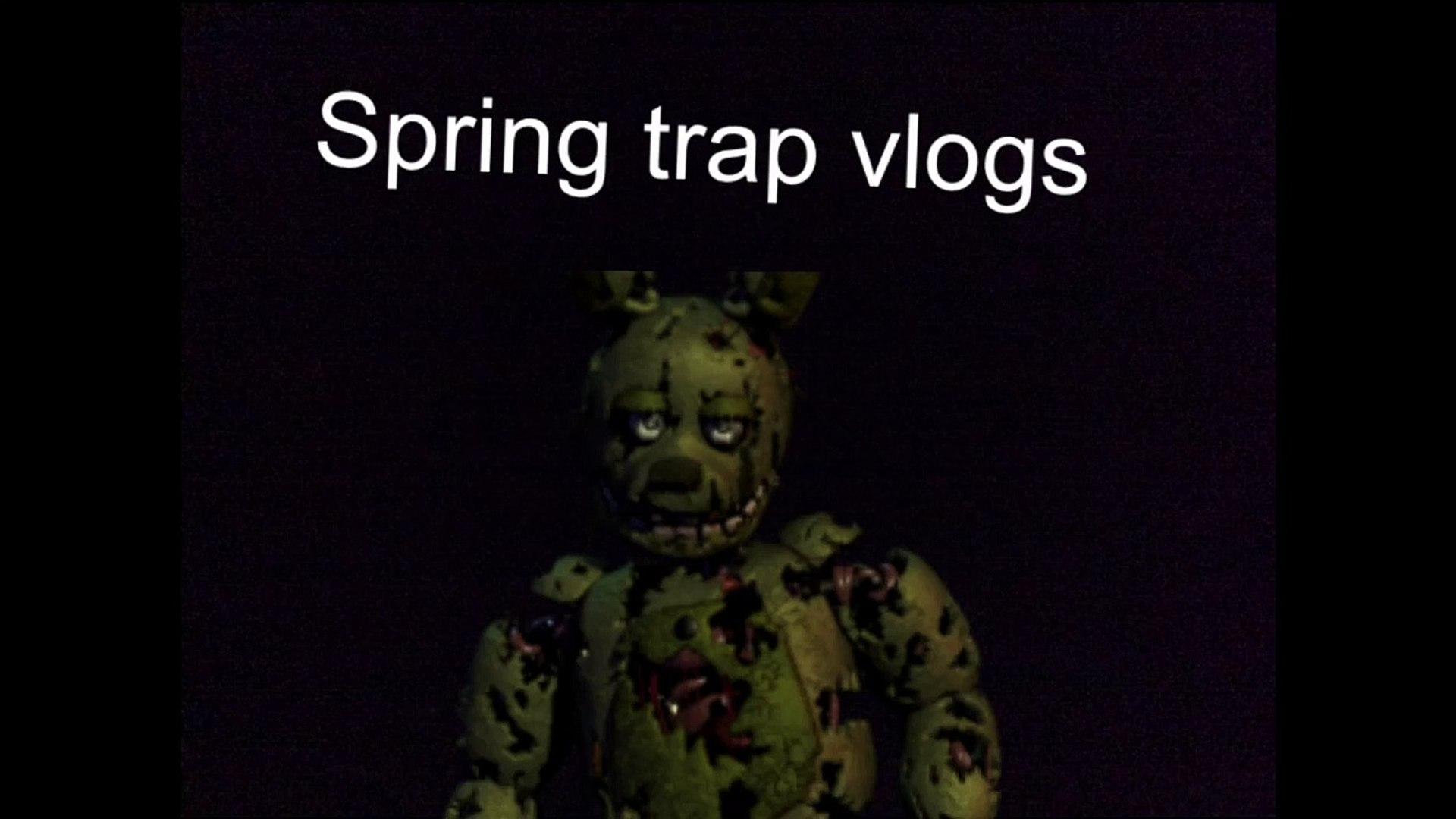 spring trap vlogs intro