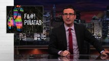 Last Week Tonight with John Oliver: John Oliver Literally Destroys Piñatas (Web Exclusive