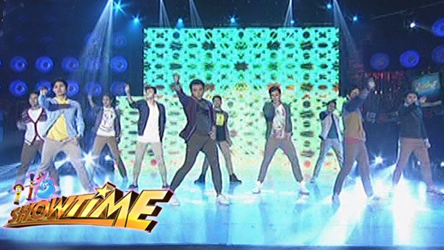 It's Showtime: Hashtag boys show their swag moves