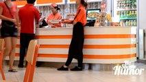 Eating Peoples Food Prank Stealing Food From People Pranks in Public
