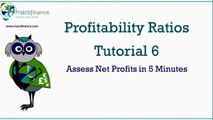 Profitability Ratios Tutorial 6 - The Net Profit Ratio Part 1