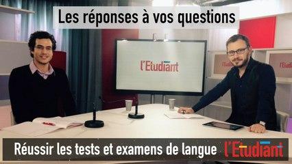 Tchat vidéo : réussir les tests de langue
