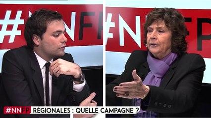 """Michèle Cotta : """"les régionales, une campagne pour rien"""""""