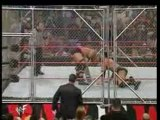 The Rock Vs  Steve Austin Steel Cage