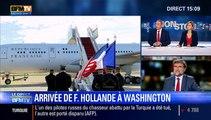 Attentats : L'arrivée de François Hollande à Washington - 24/11