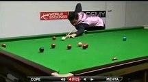 Aditya Mehta 76 vs Jamie Cope - International Championship Qualifiers - 2012