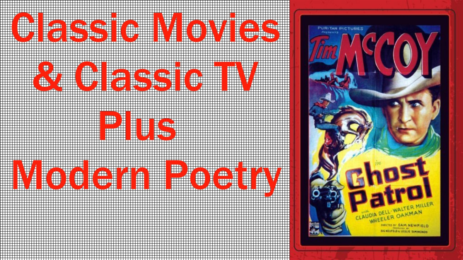 Free Classic Movies-Ghost Patrol-Free Public Domain Classic Movies and TV