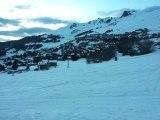 Chutes de neige en Montagne Alpes / Pyrénées
