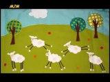 Cinq petits moutons --- Chants de Noel