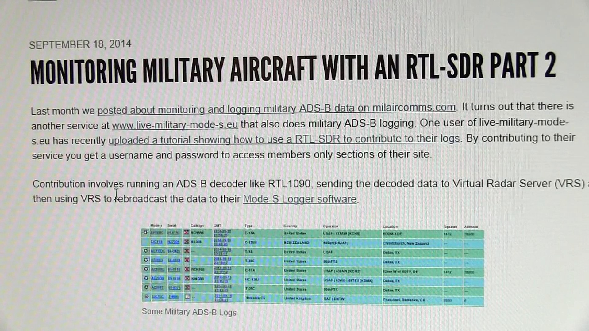 #173: Introduction to RTL-SDR low cost software defined radio receivers