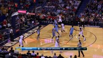 Anthony Davis Shoulder Injury | Nuggets vs Pelicans | November 17, 2015 | NBA 2015-16 Season