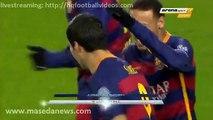 Gol Luis Suarez 1-0 Fc Barcelona vs La Roma Champions league