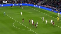 3-0 Luis Suárez Amazing Volley Goal | FC Barcelona v. AS Roma 24.11.2015