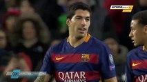 Amazing Goal luis Suarez 3-0 FC Barcelona vs Roma 24/11/2015