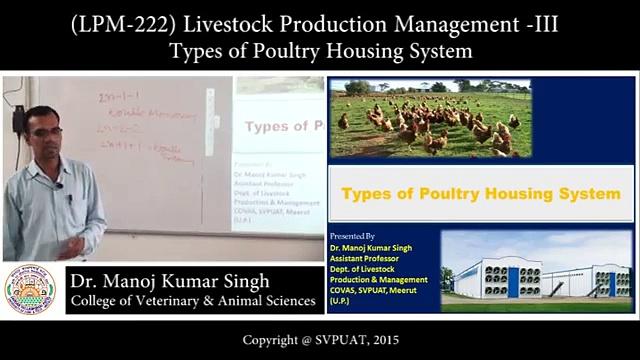 (LPM-222) Livestock Production Management-İ