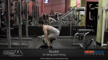Deadlift Workout - 225lbs Barbell Deadlift - The Strong Brothers AL and G