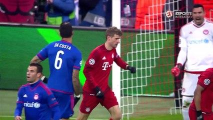 Melhores momentos: Bayern de Munique 4 x 0 Olympiakos - 5ª rodada Liga dos Campeões - 24/11/15