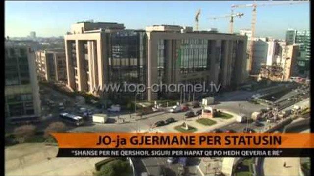 JO-ja gjermane për statusin - Top Channel Albania - News - Lajme