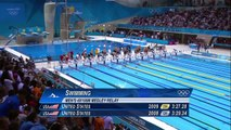 Michael Phelps' Final Olympic Race - Men's 4 x 100m Medley _ London 2012 Olympics
