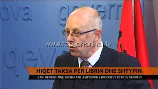 Hiqet taksa për librin dhe shtypin - Top Channel Albania - News - Lajme