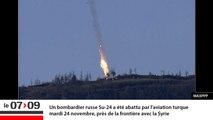 """""""Avion russe abattu par la Turquie : l'incident de trop"""" (Géopolitique)"""
