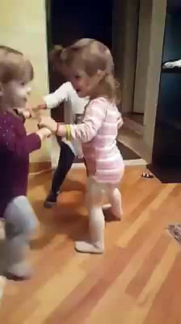 Kids dancing and playing