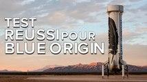 New Shepard, le lanceur réutilisable de Blue Origin atterrit avec succès