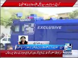 Teachers, students protest in front of Sindh CM house | clashes between Police and protesters | Police using water tanks, shelling and air firing for handling protesters