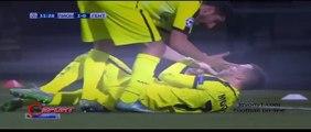 Olympique Lyon vs Gent 1 - 2 2015 ~ All Goals & Highlights Champions League 24 11 2015