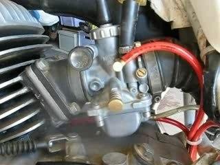 Demontage nettoyage du carburateur