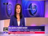 Aur pentru medicii români care au inventat o proteză pentru şold la Concursul internaţional de inventică de la Bruxelles. Echipa, formată din medici şi cercetători de la Universitatea Politehnica din Bucureşti.