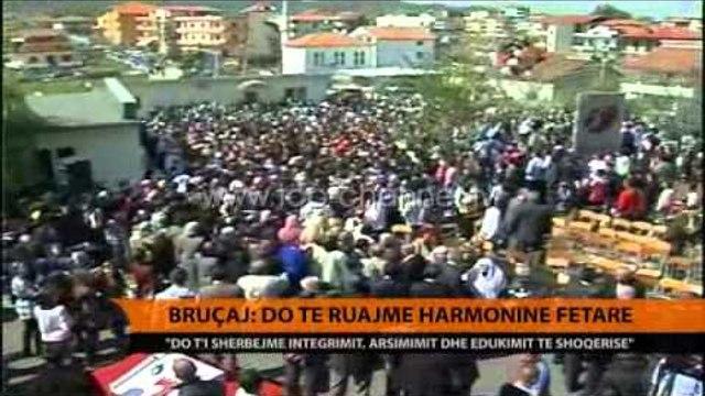 Bruçaj: Do të ruajmë harmoninë fetare - Top Channel Albania - News - Lajme