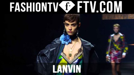 First Look at the Lanvin Spring 2016 Show | Paris | FTV.com
