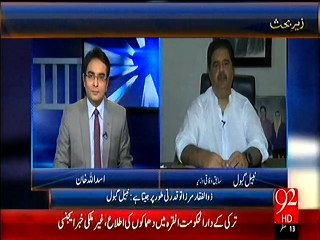 Pervez Musharaf and Pir Pagara are busy in making a new anti-PPP alliance in Sindh: Nabil Gabol